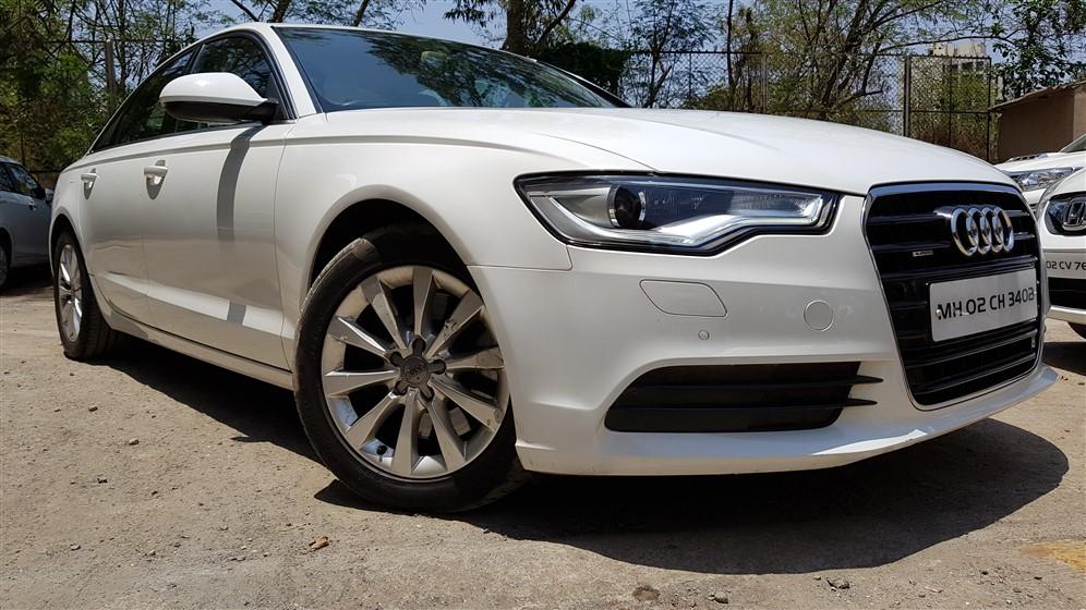 Audi A6 3.0 TDi Quattro Premium I. White 2012 45,000 Kms. | Karmax